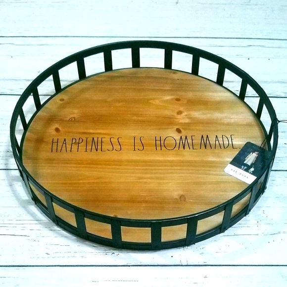 Rae Dunn Tray Happiness Is Homemade